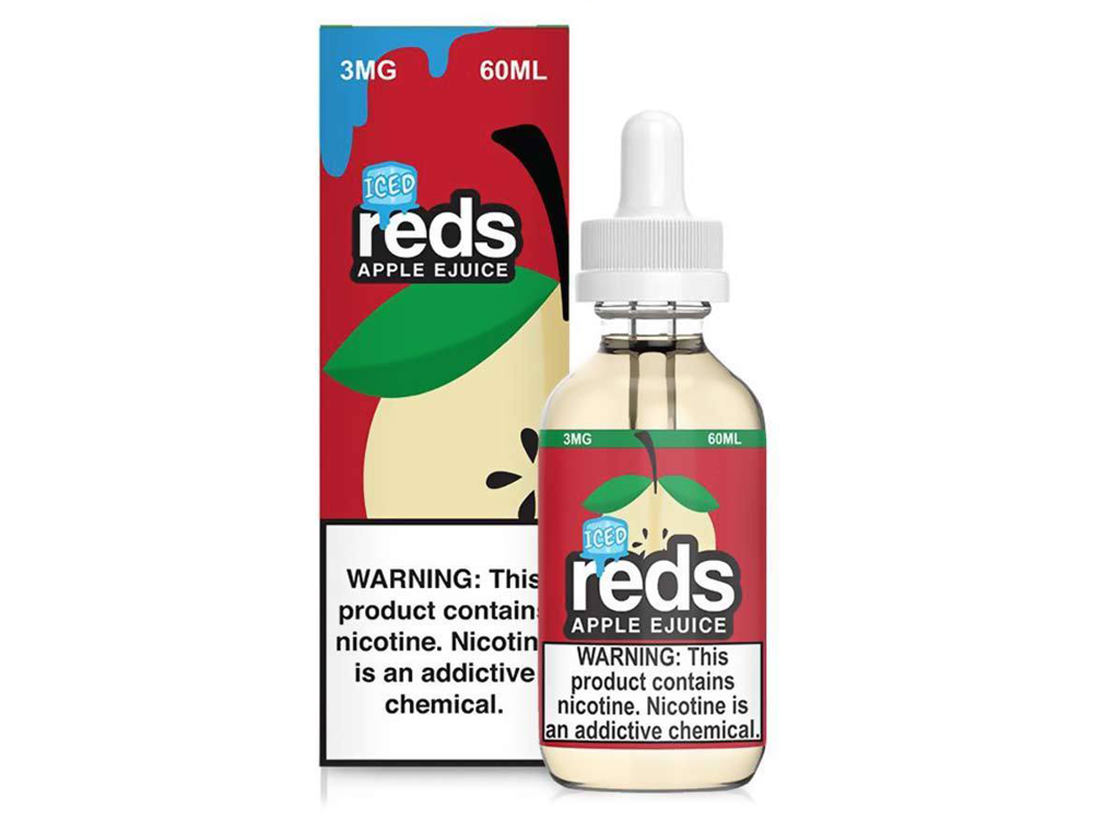 Tenacious 7 Wholesale | E-Juices | Reds Apple Iced