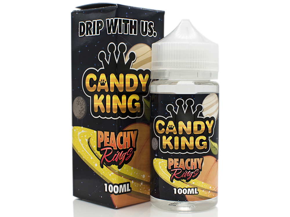 Tenacious 7 Wholesale | E-Juices | Candy King Peachy Rings