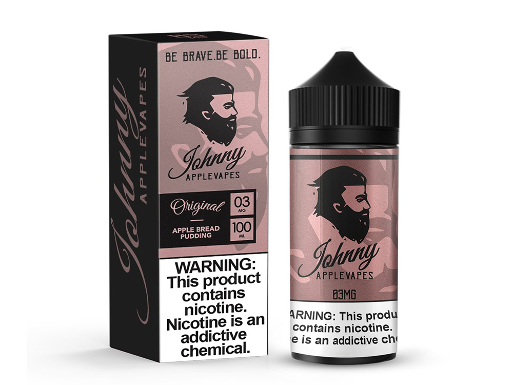Tenacious 7 Wholesale | E-Juices | Johnny Applevapes Apple Bread Pudding