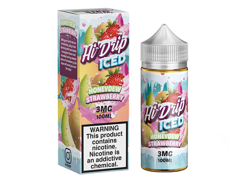 Tenacious 7 Wholesale | E-Juices | Hi-Drip Dew Berry Iced