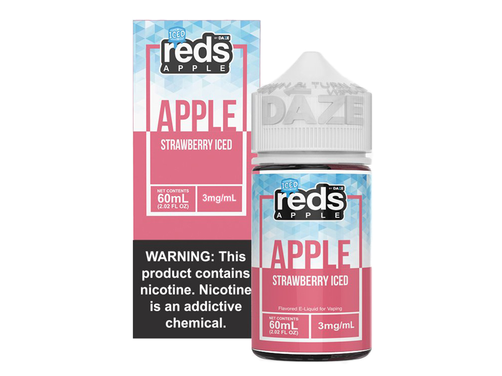 Tenacious 7 Wholesale | E-Juices | Reds Strawberry Iced