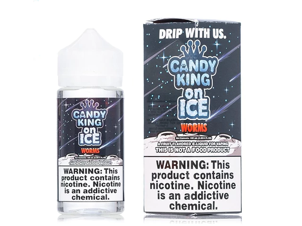 Tenacious 7 Wholesale | E-Juices | Candy King On Ice Worms
