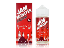 Tenacious 7 Vapor Wholesale | Jam Monster Strawberry