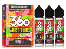 Tenacious 7 Vapor Wholesale | Lemon Twist Triple Red
