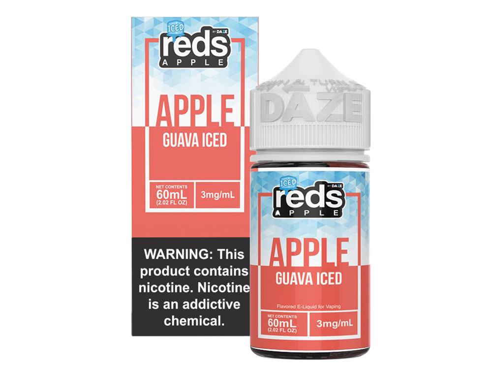 Tenacious 7 Wholesale | E-Juices | Reds Guava Iced