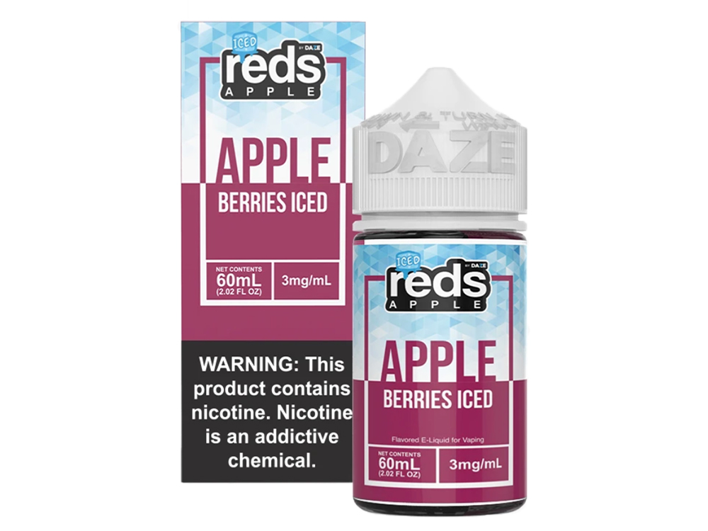 Tenacious 7 Wholesale | E-Juices | Reds Berries Iced
