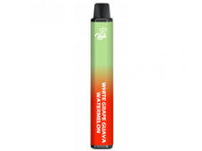 Tenacious 7 Vapor Wholesale | Lush Bar Dual Disposable White Grape Guava / Watermelon