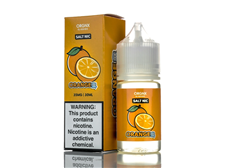 Tenacious 7 Vapor Wholesale | Orgnx Salt Orange Ice