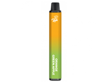 Tenacious 7 Vapor Wholesale | Lush Bar Dual Disposable Orange / Green Apple