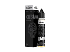 Tenacious 7 Vapor Wholesale | Salt Nic Cubano Black